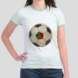 Portugal Football Jr. Ringer T-Shirt