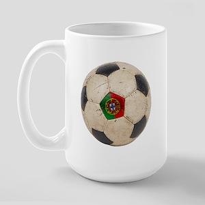 Portugal Football Large Mug