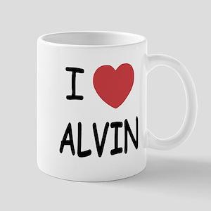 I heart Alvin Mug