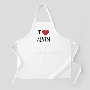I heart Alvin Apron