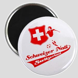 Swiss soccer Magnet