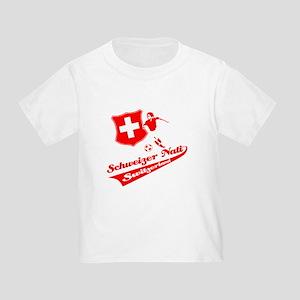 Swiss soccer Toddler T-Shirt
