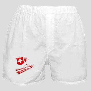Swiss soccer Boxer Shorts
