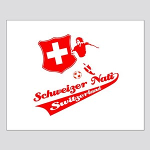 Swiss soccer Small Poster