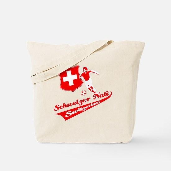 Swiss soccer Tote Bag