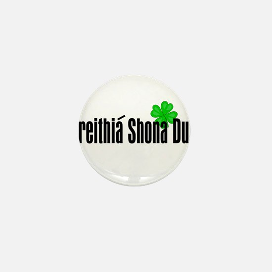 Happy Birthday in Irish Mini Button