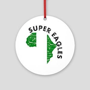 Super Eagles of Nigeria Ornament (Round)