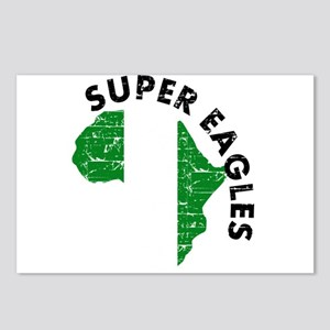 Super Eagles of Nigeria Postcards (Package of 8)