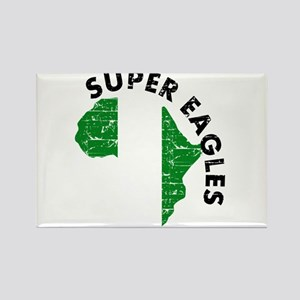 Super Eagles of Nigeria Rectangle Magnet