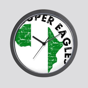 Super Eagles of Nigeria Wall Clock