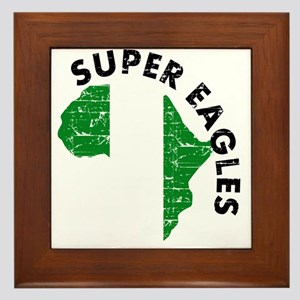 Super Eagles of Nigeria Framed Tile