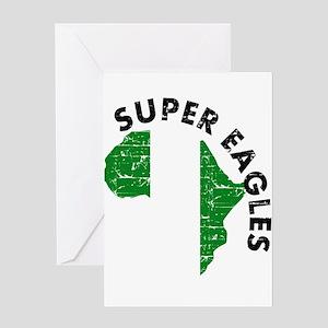 Super Eagles of Nigeria Greeting Card