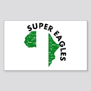 Super Eagles of Nigeria Sticker (Rectangle)