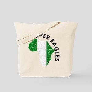 Super Eagles of Nigeria Tote Bag