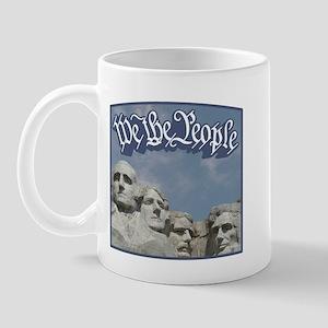 WTP / Rushmore / Blue Mug