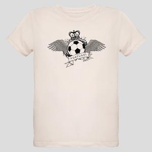 Portugal Football Organic Kids T-Shirt