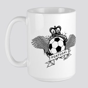 Portugal Football Large Mug