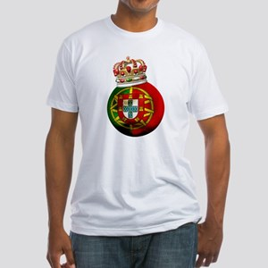 Portugal Football Champion Fitted T-Shirt