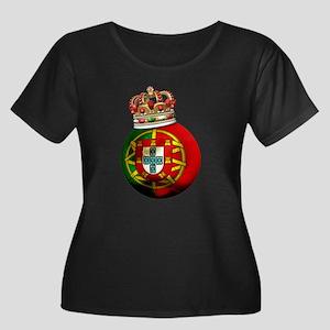 Portugal Football Champion Women's Plus Size Scoop
