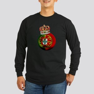 Portugal Football Champion Long Sleeve Dark T-Shir