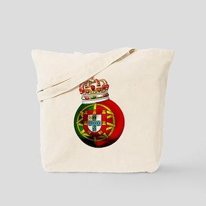 Portugal Football Champion Tote Bag