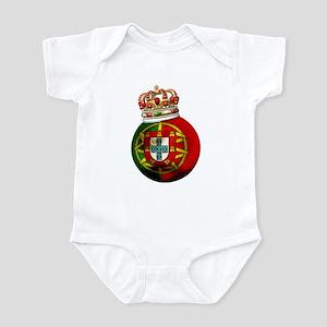 Portugal Football Champion Infant Bodysuit