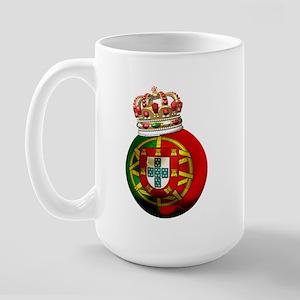 Portugal Football Champion Large Mug