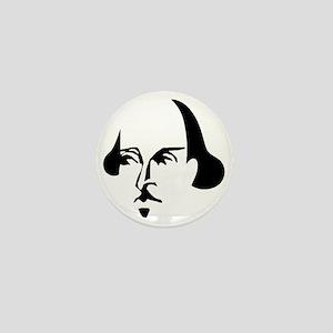 Simple Shakespeare Mini Button