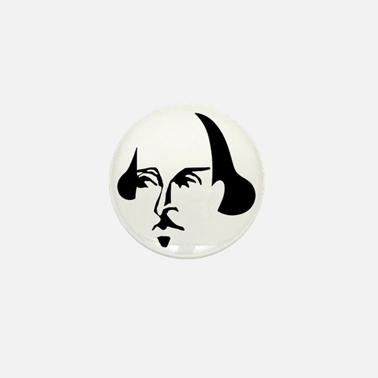 Simple Shakespeare Mini Button