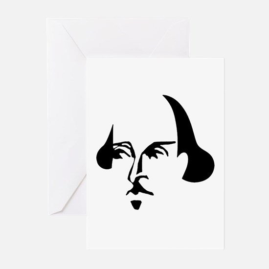 Simple Shakespeare Greeting Cards (Pk of 20)