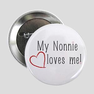 "2.25"" Button My Nonnie loves me!"