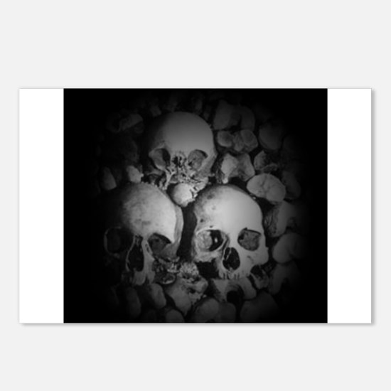 dark catacombs Postcards (Package of 8)