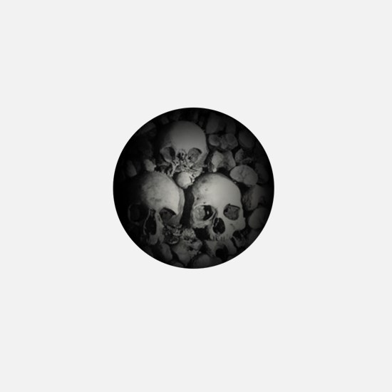 dark catacombs Mini Button
