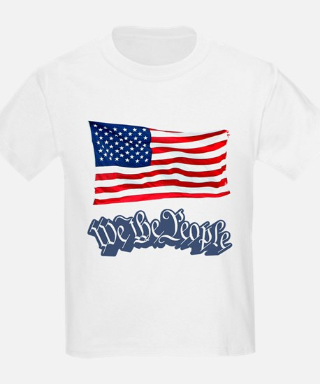 We The People w/Flag T-Shirt