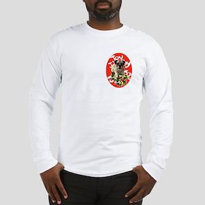 border terrier Christmas Long Sleeve T-Shirt