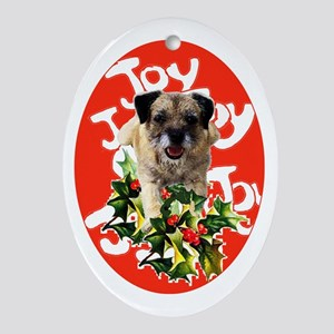 ebb00df9ade Border Terrier Christmas Ornaments - CafePress