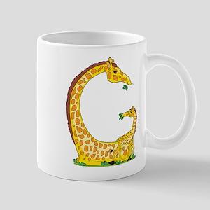 Animal Alphabet Giraffe Mug