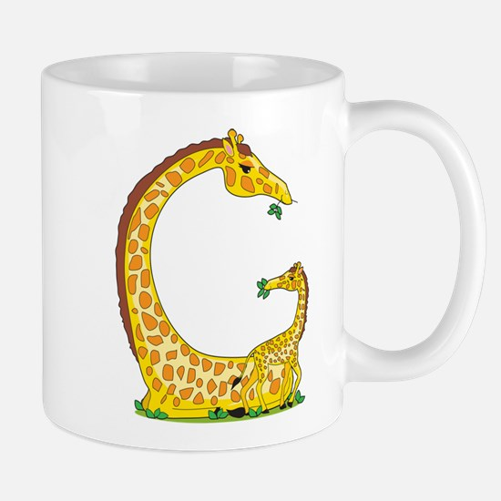 Animal Alphabet Giraffe Mug