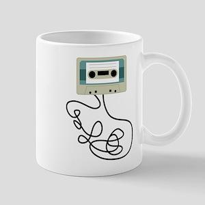 Loose Cassette Tape Loops Coffee Mug