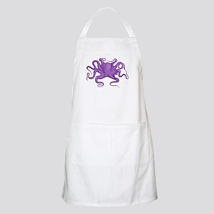 Purple Octopus Apron