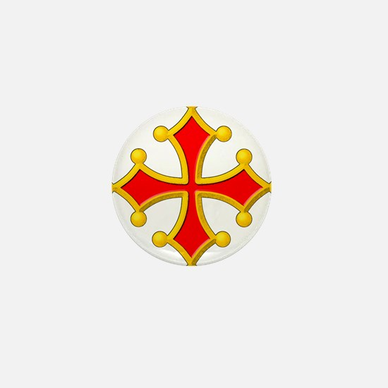 Cross of Toulouse Mini Button