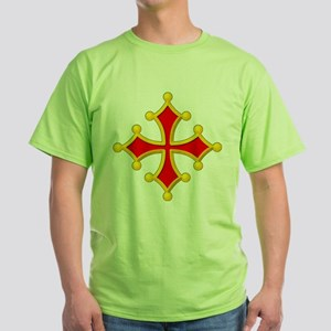 Cross of Toulouse Green T-Shirt