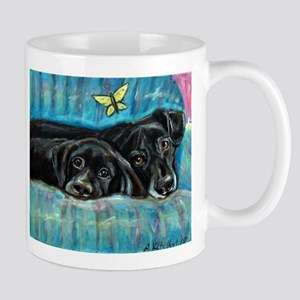 Portrait of Labs, Jade & Jasm Mug
