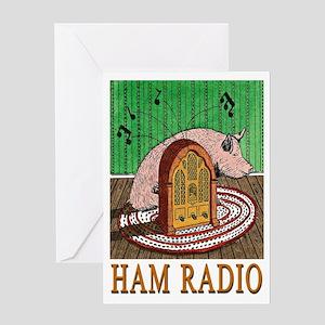 """HAM RADIO"" Greeting Card"