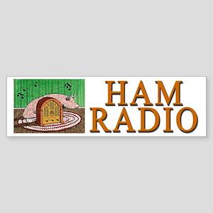 """HAM RADIO"" Sticker (Bumper)"