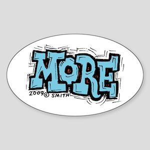 More Sticker (Oval)