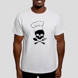 Skull & Crossbones Chef Light T-Shirt