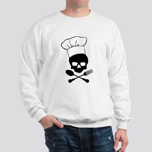Skull & Crossbones Chef Sweatshirt