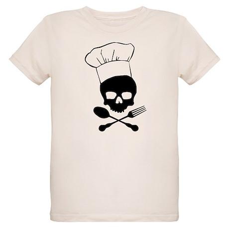 Skull & Crossbones Chef Organic Kids T-Shirt