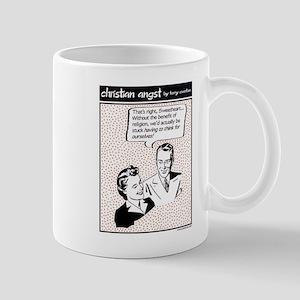 Benefit of Religion... Mug